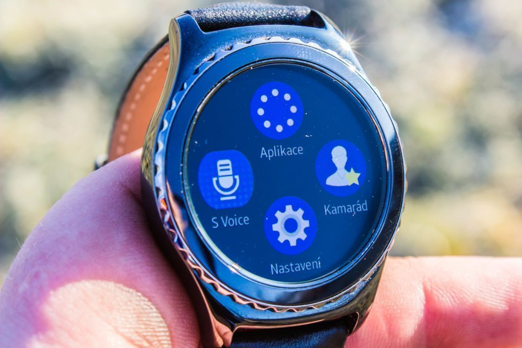 Samsung Gear S2 - první nabídka možností