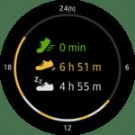 Samsung Gear S2 – widget aktivity