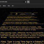 Star Wars easter egg – výsledky hledání 2