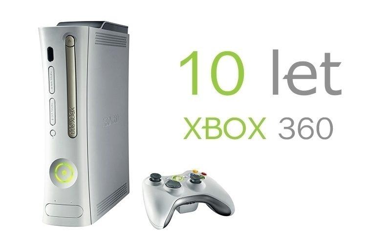 Xbox360 10 let – náhleďák