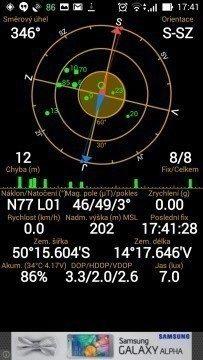 Asus Zenfone 5 - GPS satelity