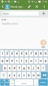 Asus Zenfone 5 -  klávesnice