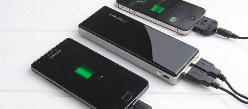 baterie nabíjení