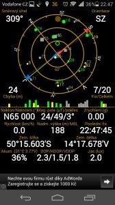 Honor 6 - GPS satelity