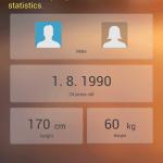 Huawei TalkBand B1 – nastavení údajů (2)