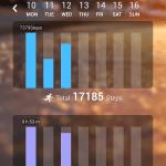 Huawei TalkBand B1 – statistiky (3)