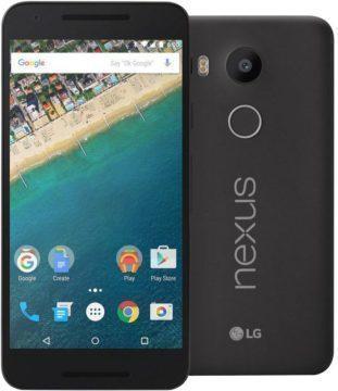 Nexus 5X pořizuje snímky vzhůru nohama