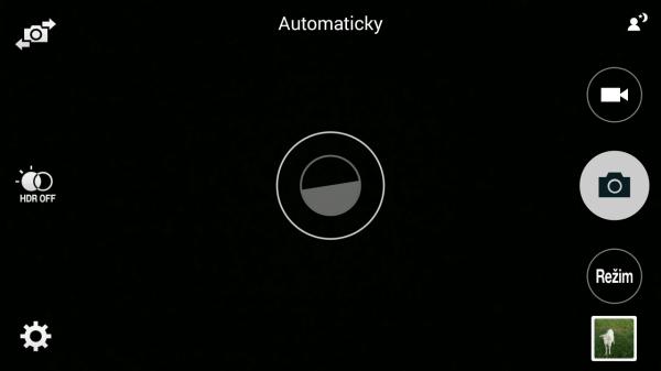 Samsung Galaxy Note 4 - aplikace fotoaparátu (2)