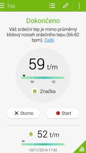 Samsung Galaxy Note 4 -  aplikace S-Health (4)