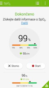 Samsung Galaxy Note 4 -  aplikace S-Health (6)