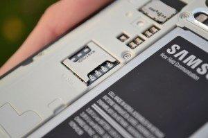 Samsung Galaxy Note 4 - karta SIM