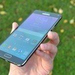Samsung Galaxy Note 4 – přední strana, displej (1)