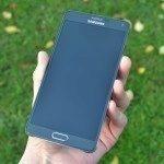 Samsung Galaxy Note 4 – přední strana telefonu (2)