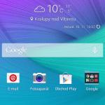 Samsung Galaxy Note 4 –  prostředí systému Android 4.4.4 (4)