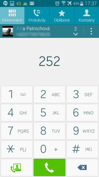 Samsung Galaxy Note 4 - T9 dialer