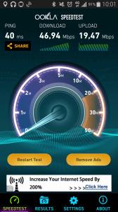 Samsung Galaxy Note 4 - test LTE připojení