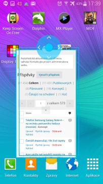 Samsung Galaxy Note 4 - více oken (1)