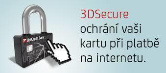 Mobilní bankovnictvím - 3D Secure