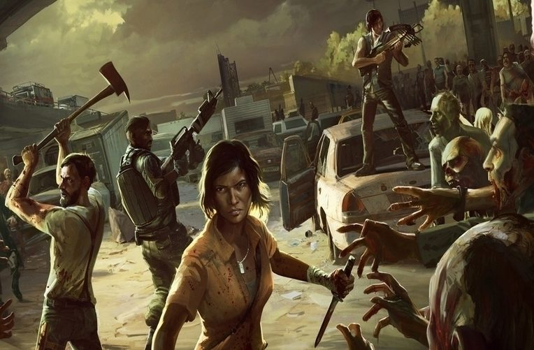 walking dead no mans land android hry hlavni