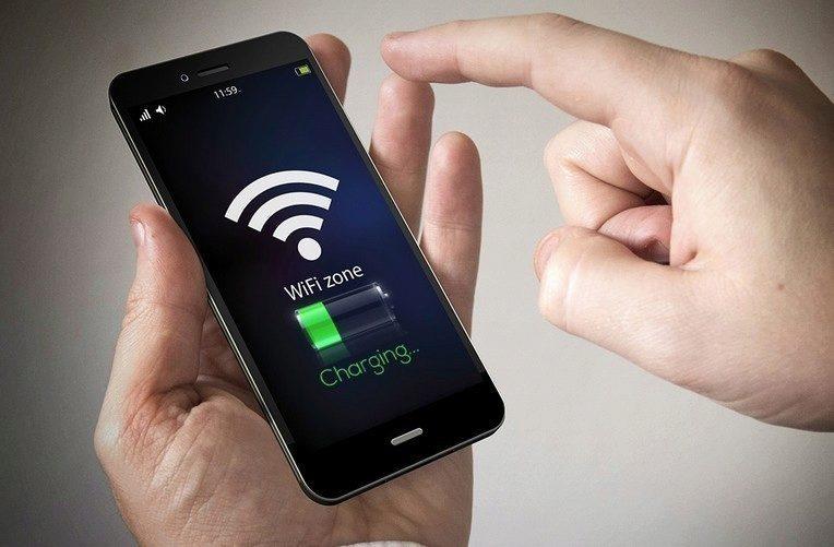 wifi nabíjen