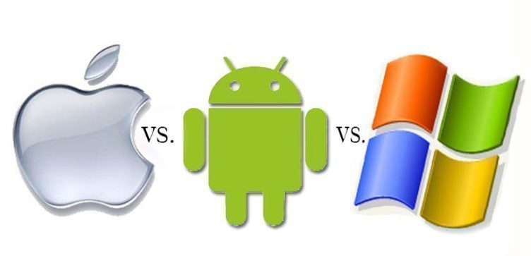 windows 10 vs android vs ios