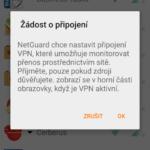 Žádost o povolení VPN
