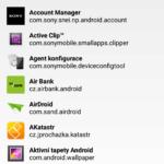 Seznam testovaných aplikací