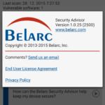 Informace o aplikaci
