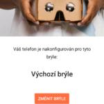 Aplikace Cardboard: průvodce nastavením