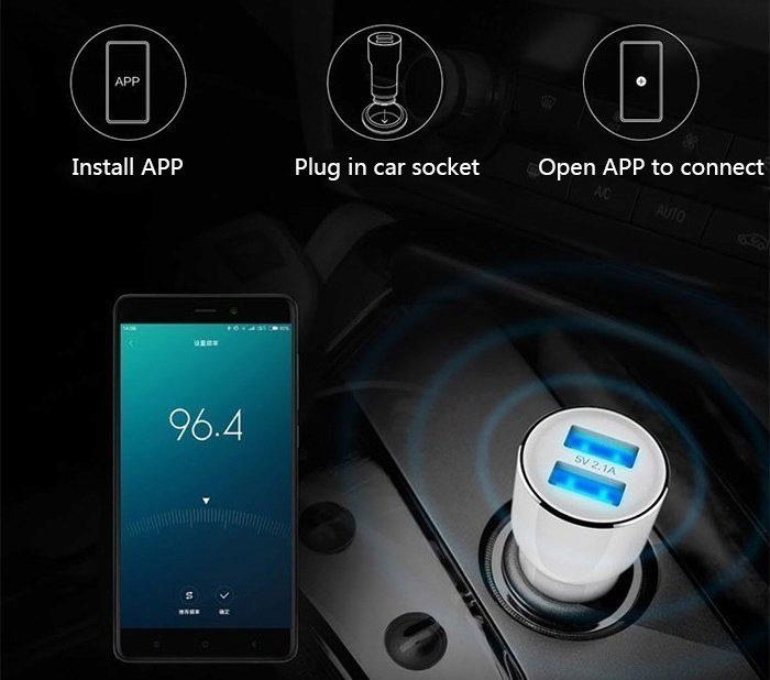 čínské zboží - Xiaomi nabíječka do auta
