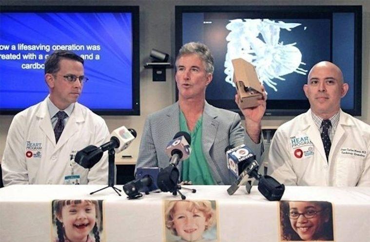 Google Cardboard v medicíně – náhleďák