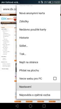 Google Chrome – sloučení karet (1)