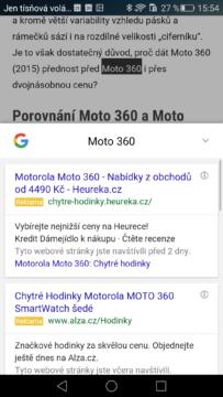 Google Chrome – vyhledávání (2)