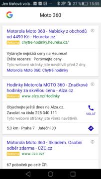 Google Chrome – vyhledávání (3)