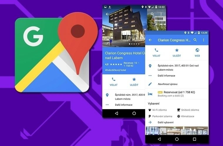 Google Mapy v 9.18 – náhleďák