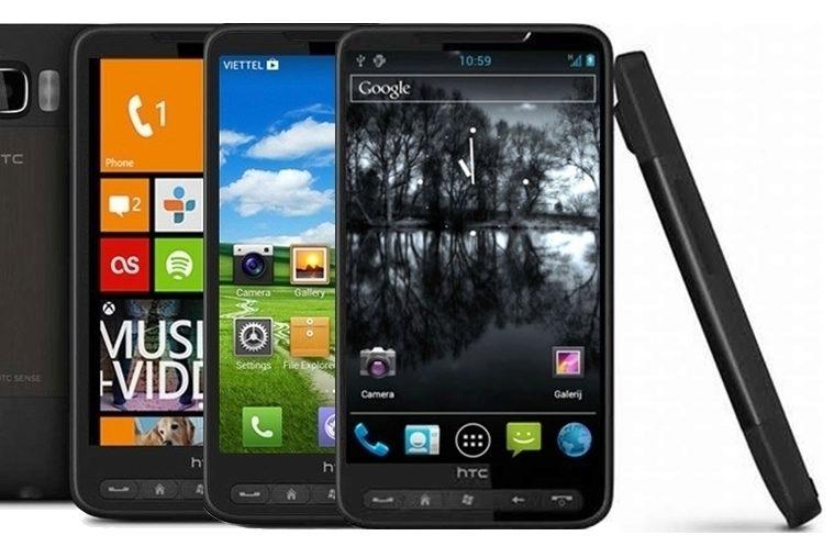HTC HD2 – náhleďák