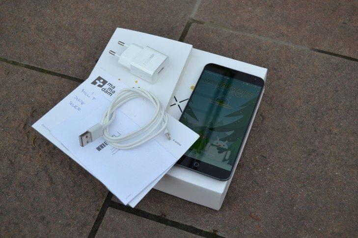 Meizu MX4 -  obsah balení