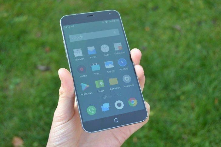 Meizu MX4 -  přední strana telefonu (3)