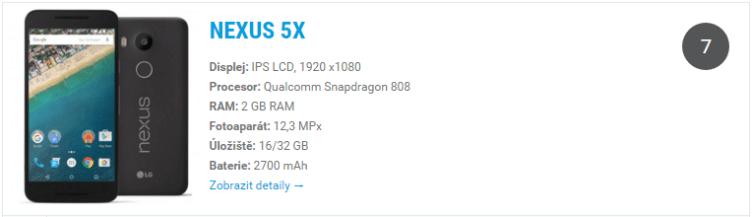 Nexus 5X - widget