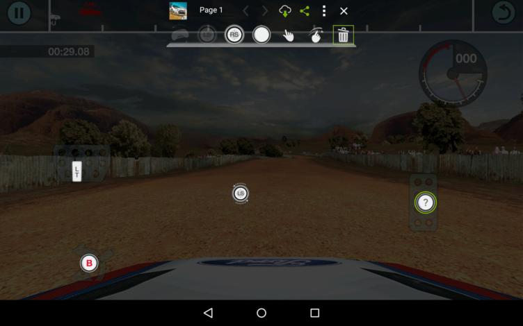 Nvidia Shield Tablet K1 mapovani