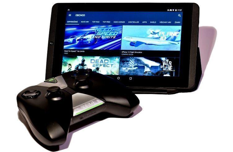 Nvidia Shield Tablet K1 titul 2