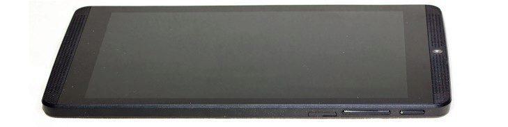 Nvidia Shield Tablet K1přední strana