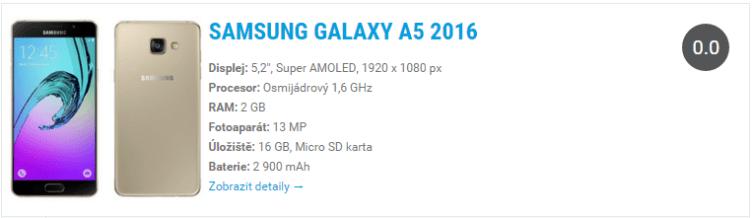 Samsung-Galaxy-A5-2016 Widget