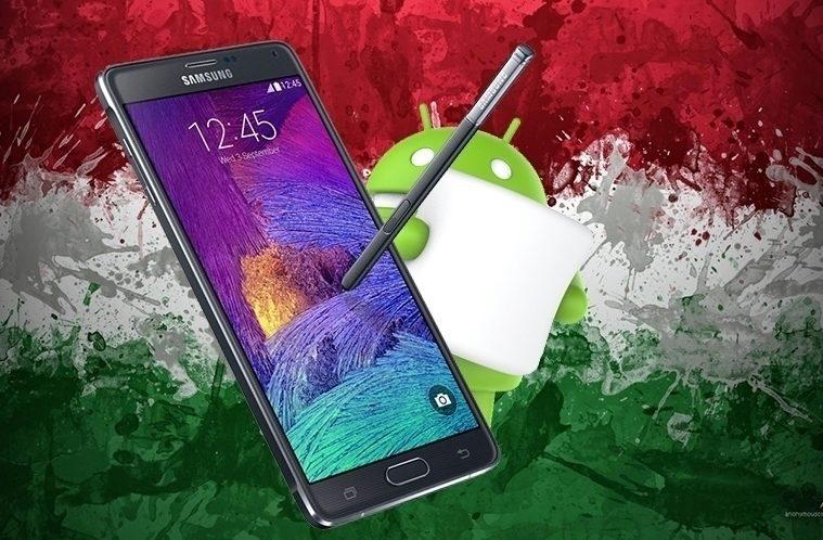 Samsung Galaxy Note 4 – Maďarsko aktualizuje- náhleďák