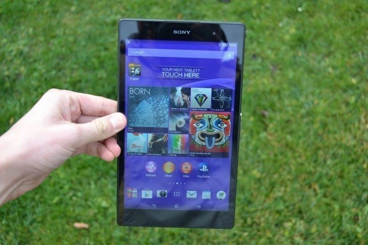 Sony Xperia Z3 Tablet Compact -  displej (1)