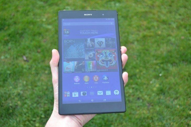 Sony Xperia Z3 Tablet Compact -  přední strana (3)