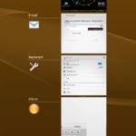 Sony Xperia Z3 Tablet Compact –  prostředí systému Android (10)