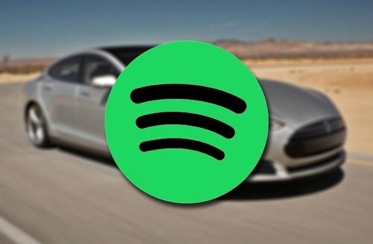 Spotify v Tesle – náhleďák