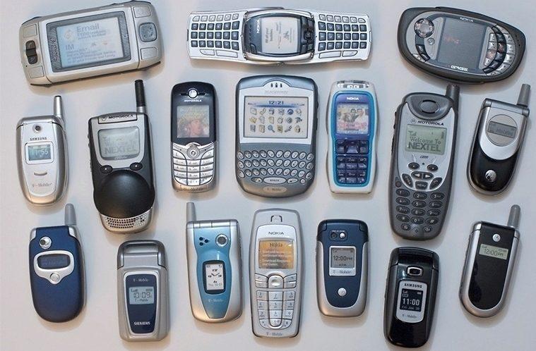 Staré telefony – náhleďák