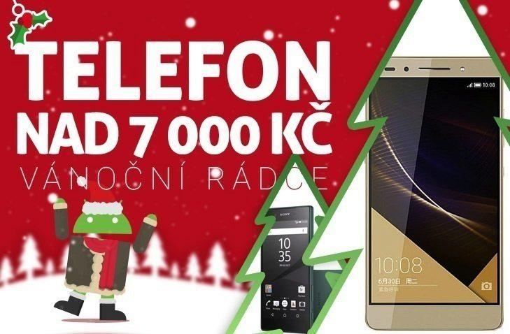 Vánoční rádce nahledovy obrazek – telefon nad 7k
